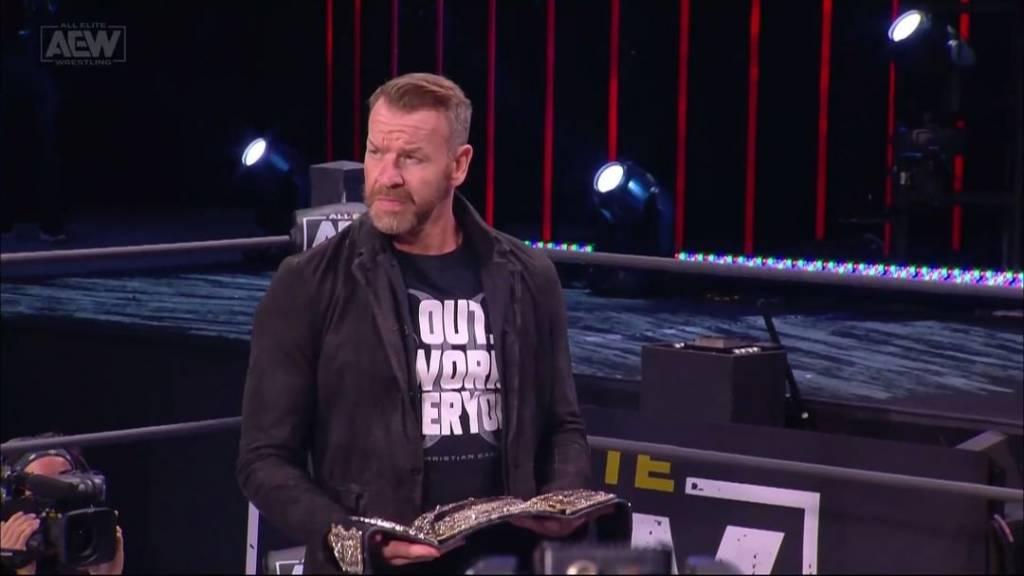 Christian Cage WWE hizo sentir