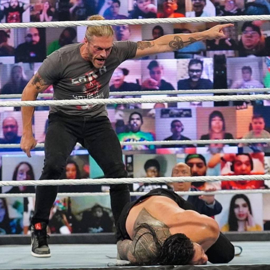 Edge vencer Roman Reigns WrestleMania 37