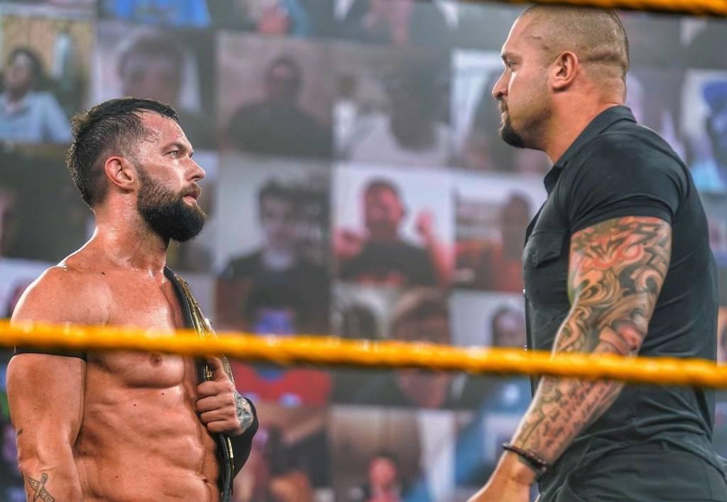 Finn Bálor vence Cole próximo retador NXT