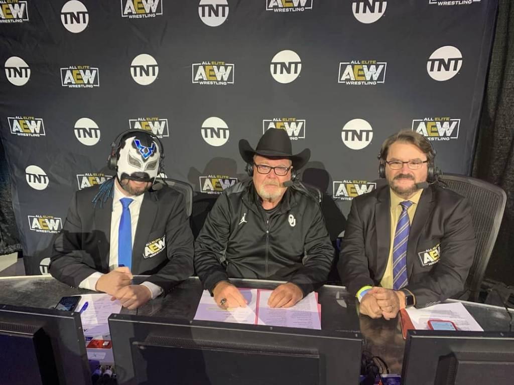 ex comentarista duras palabras Andrade WWE