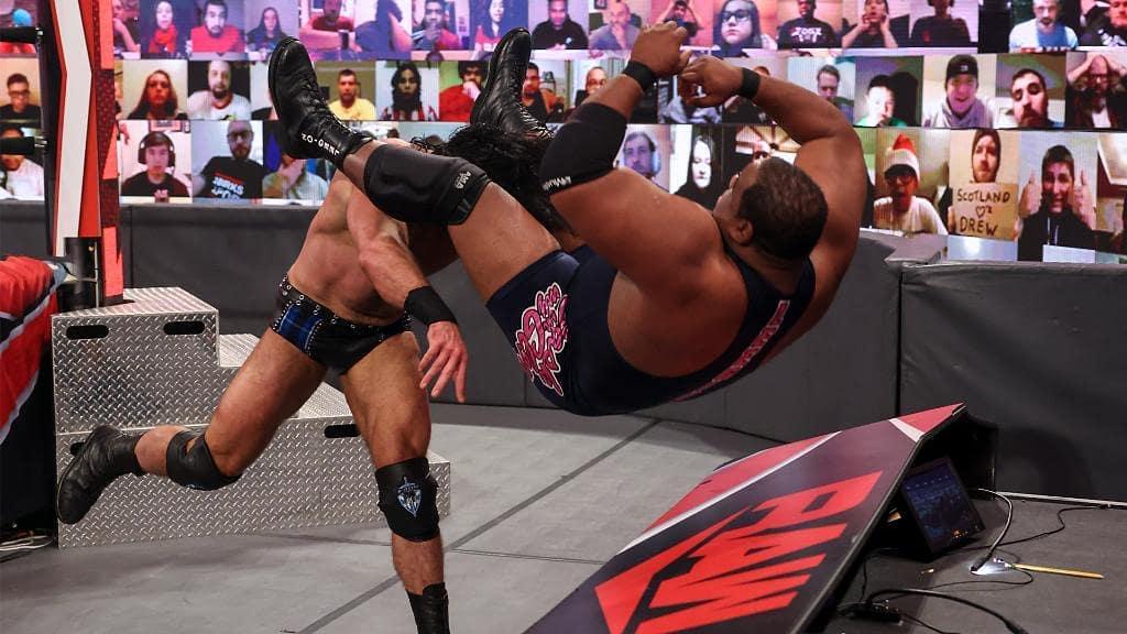 Keith Lee necesitaría volver luchar WWE 2021