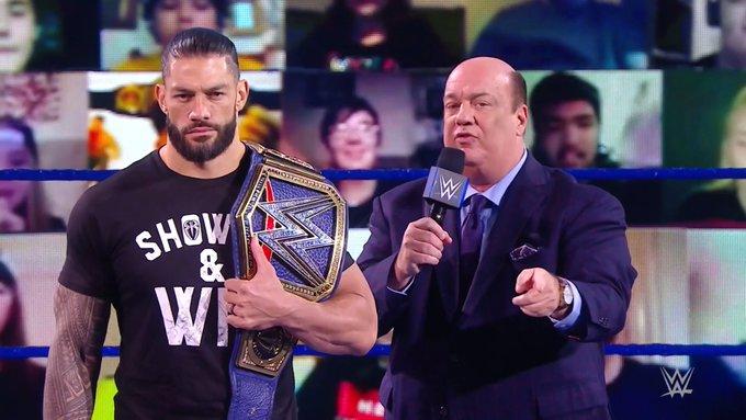 Roman Reigns demasiado joven WWE Paul Heyman