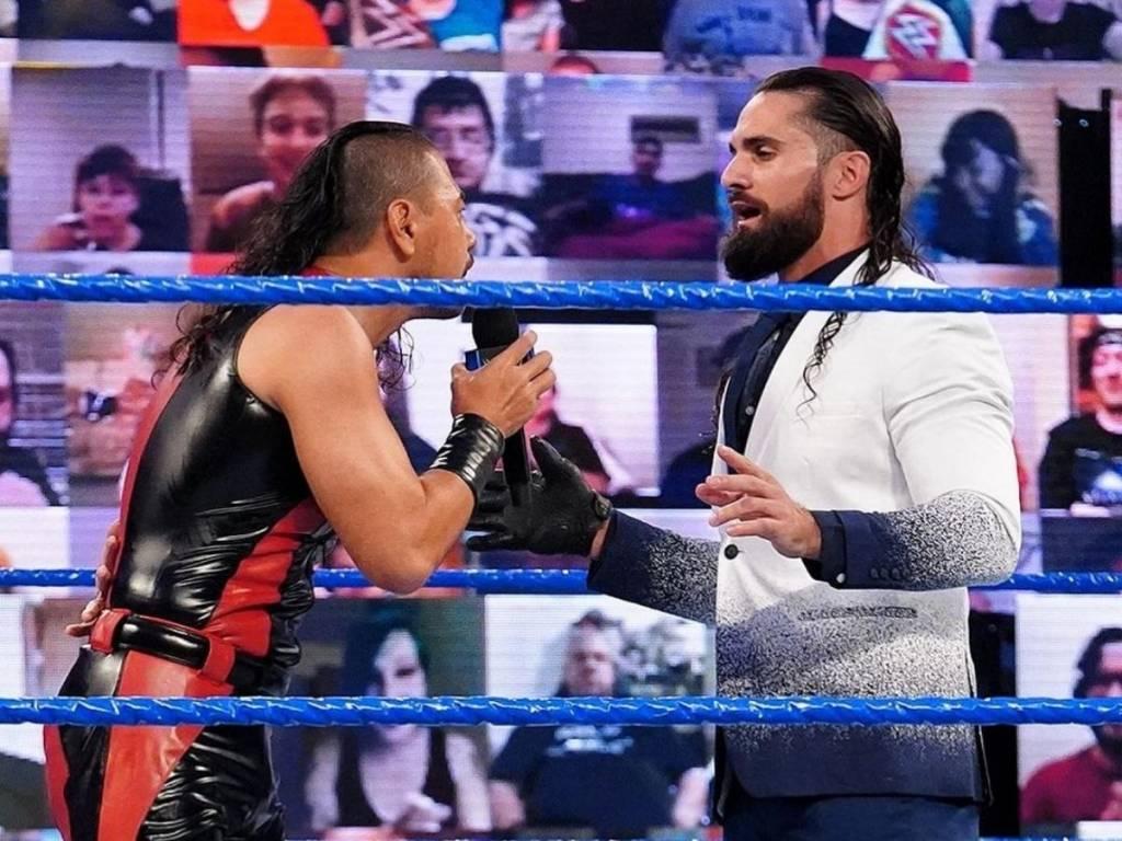 Shinsuke Nakamura vs Seth Rollins Fastlane 2021 WWE