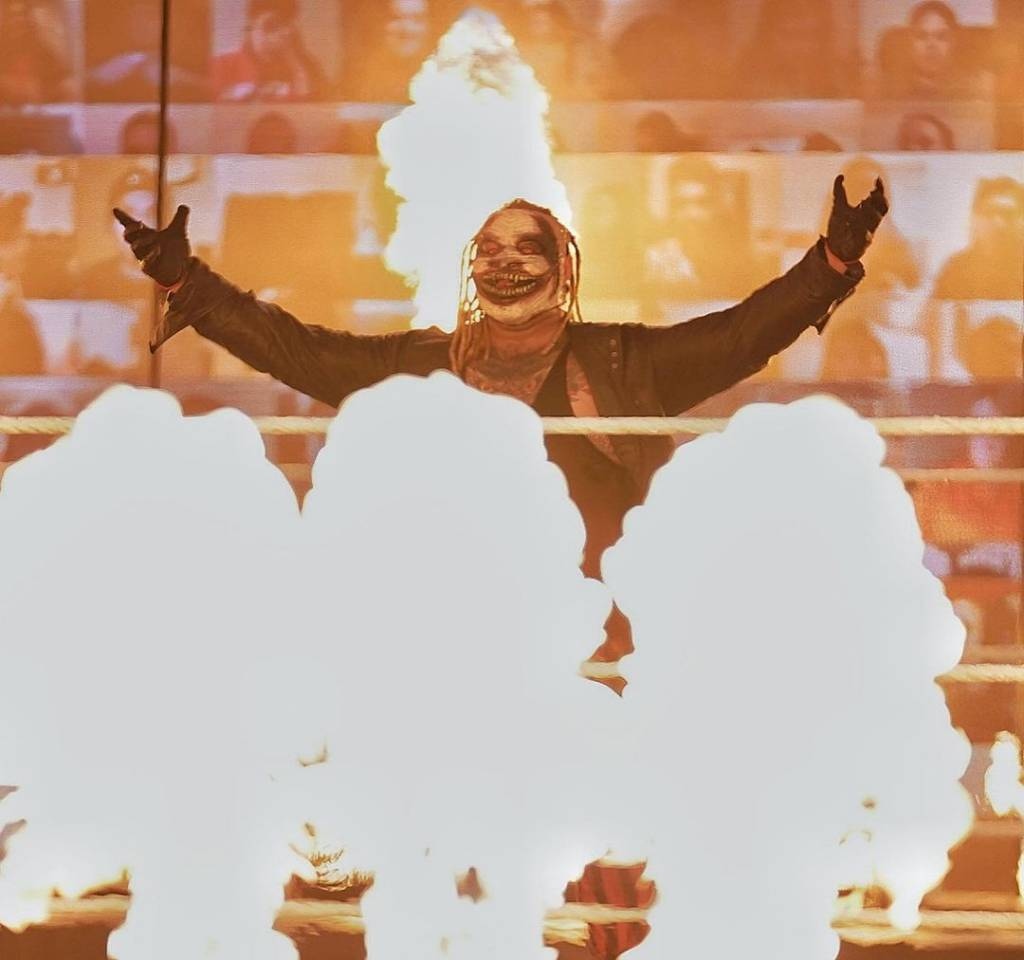 The Fiend, Alexa Bliss, Randy Orton Fastlane 2021