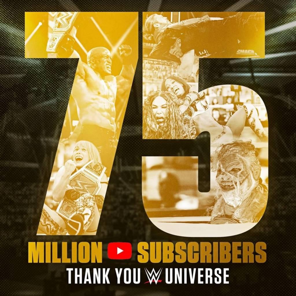 WWE crecimiento impresionante YouTube