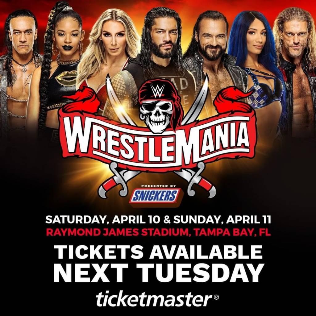 WrestleMania 37 esto costará una entrada