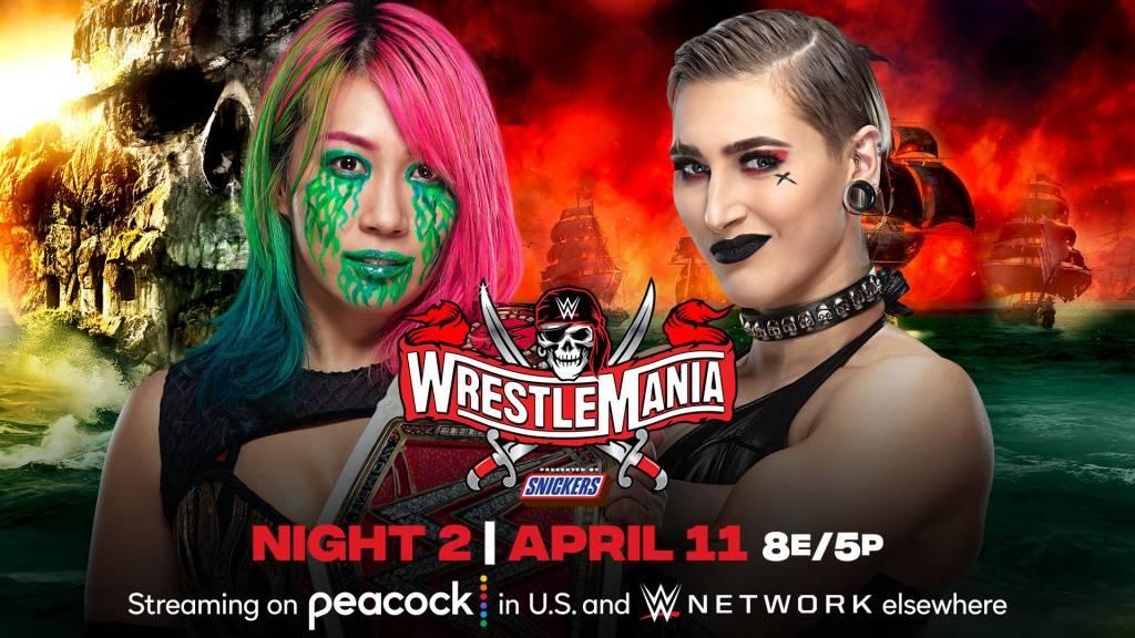 WrestleMania 37 ver EN VIVO noche 2
