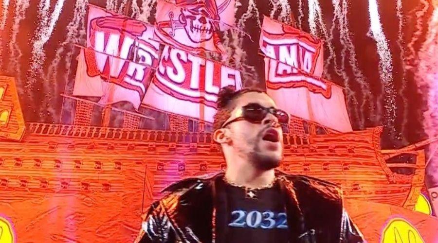 WWE The Miz no esperaba Bad Bunny WrestleMania 37