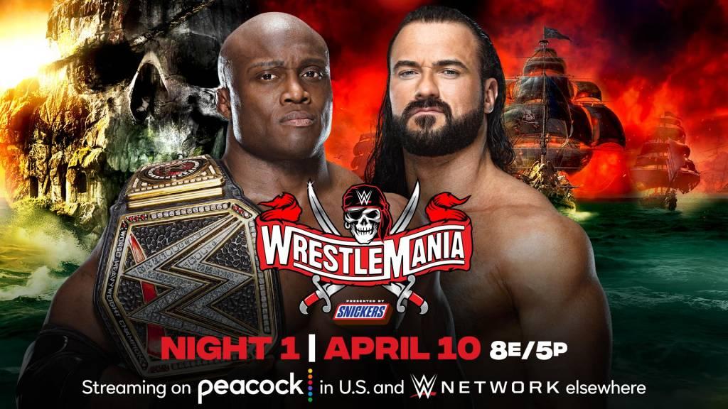 WrestleMania 37 ver EN VIVO noche 1