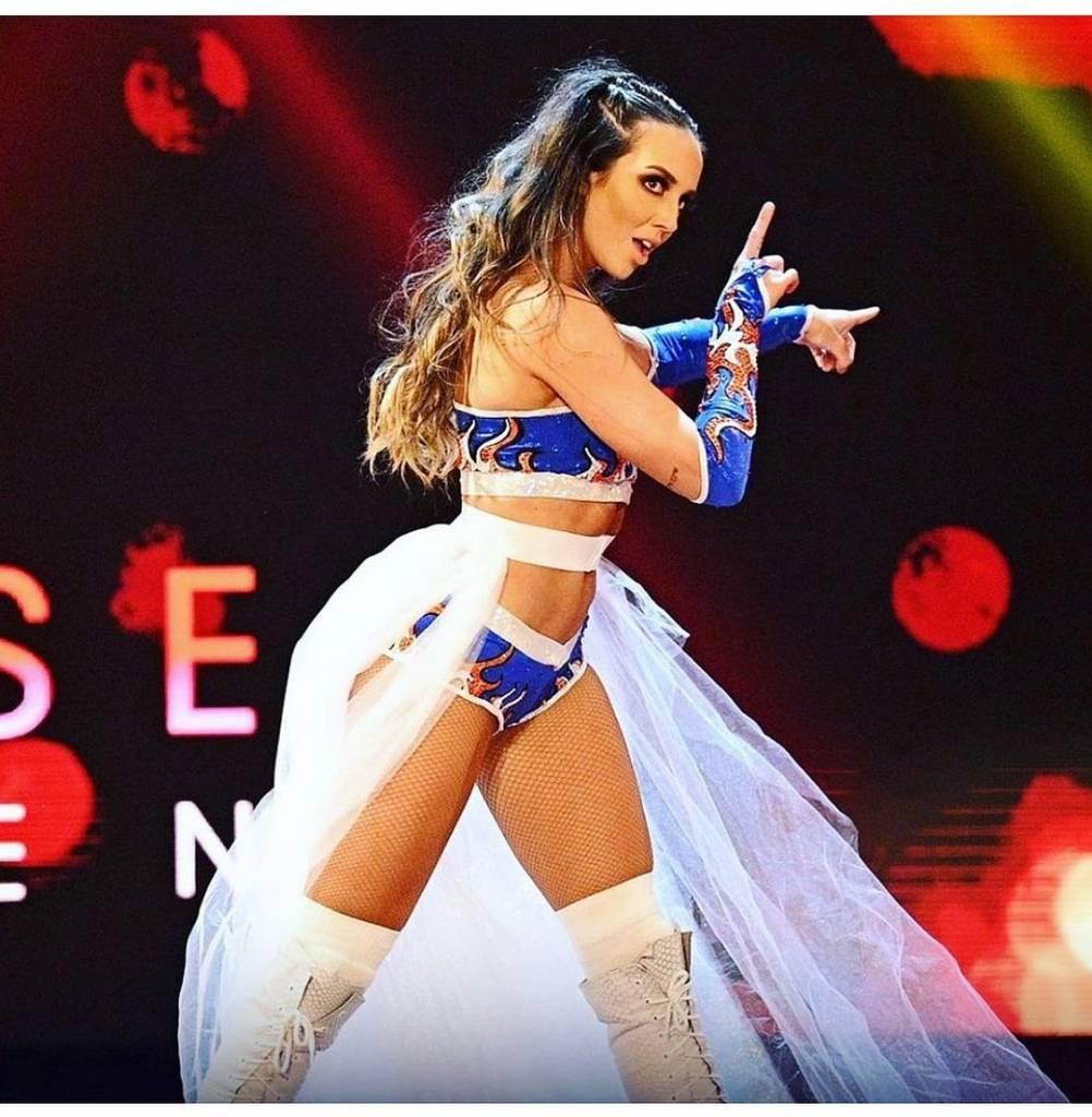 superestrella femenina WWE despedida novia Seth Rollins
