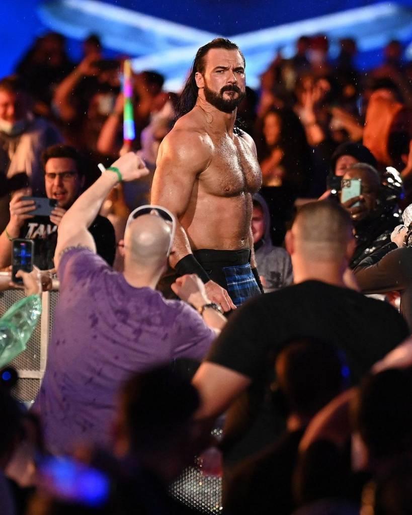 Drew McIntyre advertencia T-Bar RAW WWE