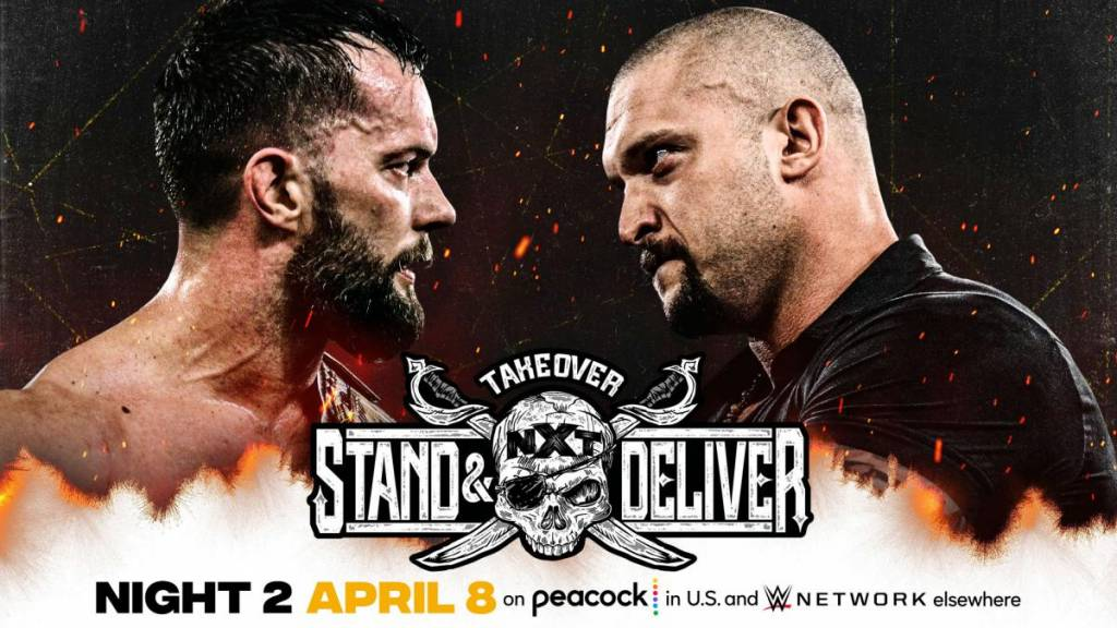 Cartelera NXT TakeOver Stand & Deliver 2021
