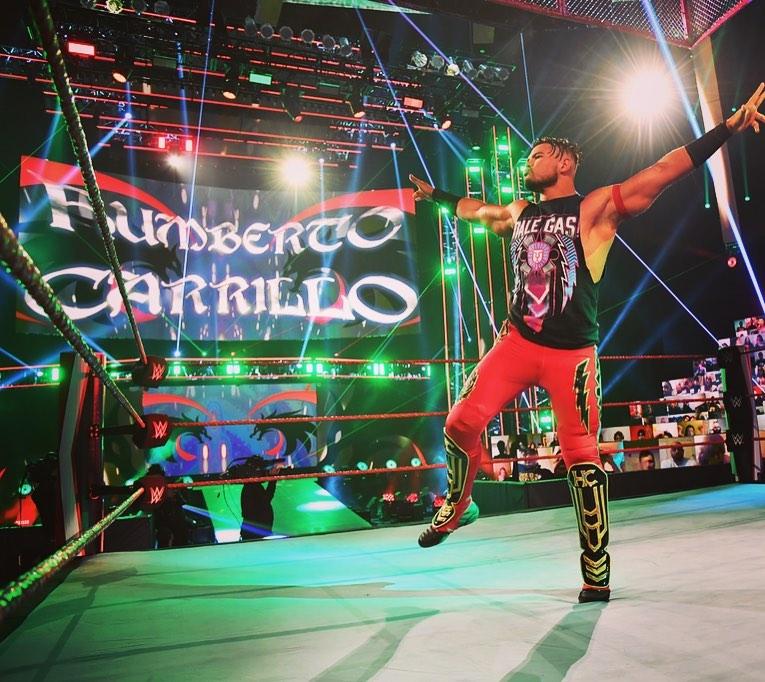 Planes WWE Humberto Carrillo
