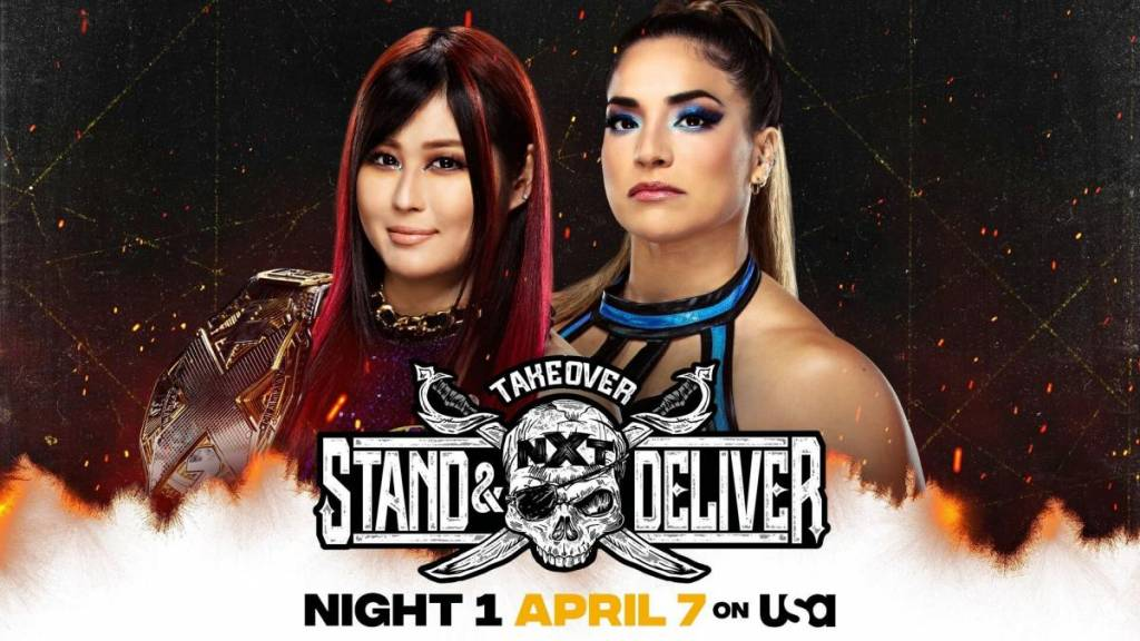 Cartelera horarios noche 1 NXT TakeOver: Stand & Deliver 2021 WWE