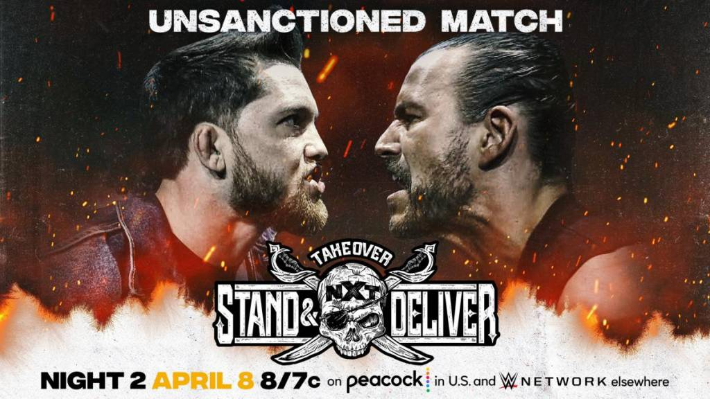 Cartelera horarios NXT TakeOver Stand & Deliver 2021 WWE NXT