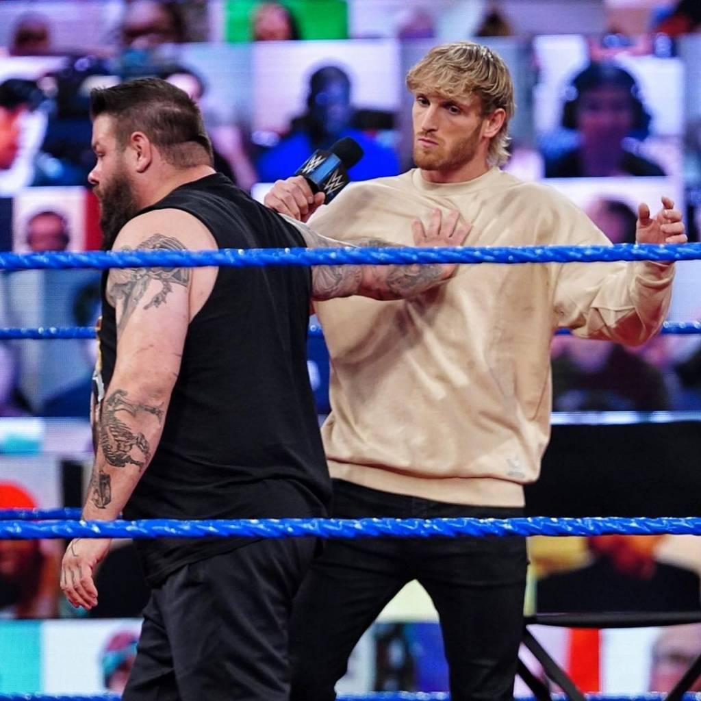Kevin Owens Sami Zayn WrestleMania 37 Logan Paul