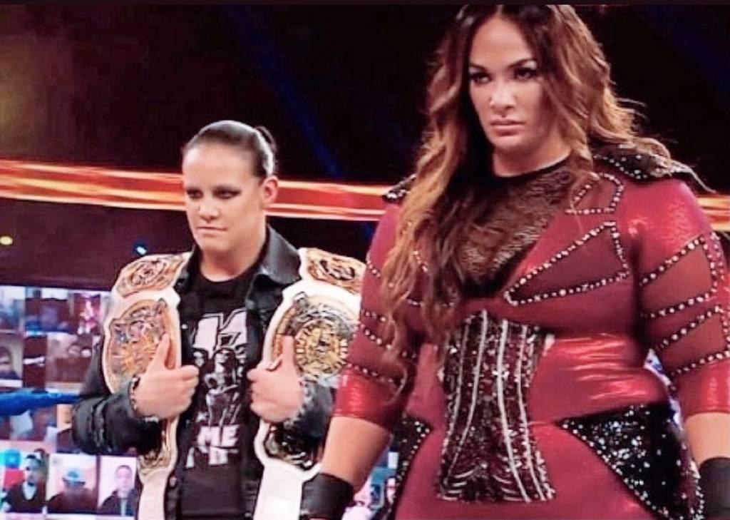 retadoras Nia Jax Shayna Baszler WrestleMania 37 WWE