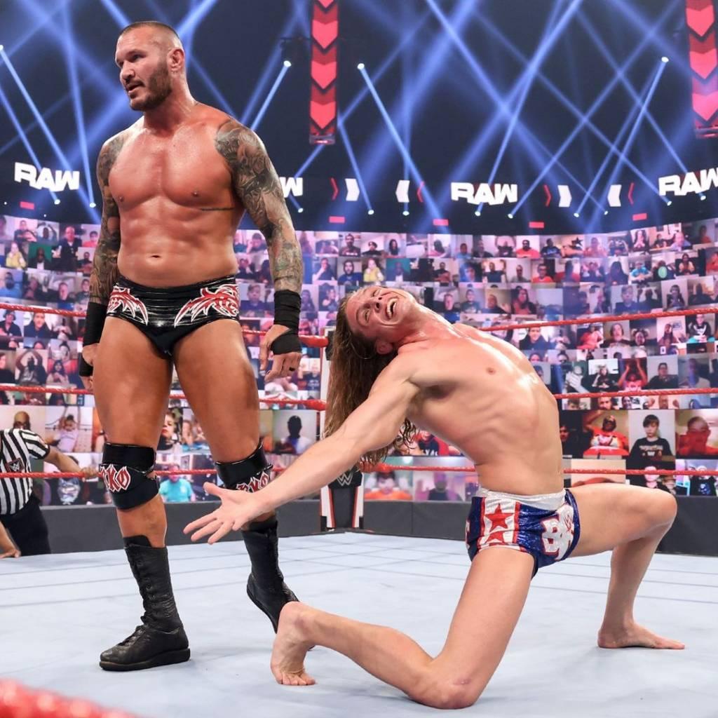 RKBro quién idea juntar Randy Orton Riddle