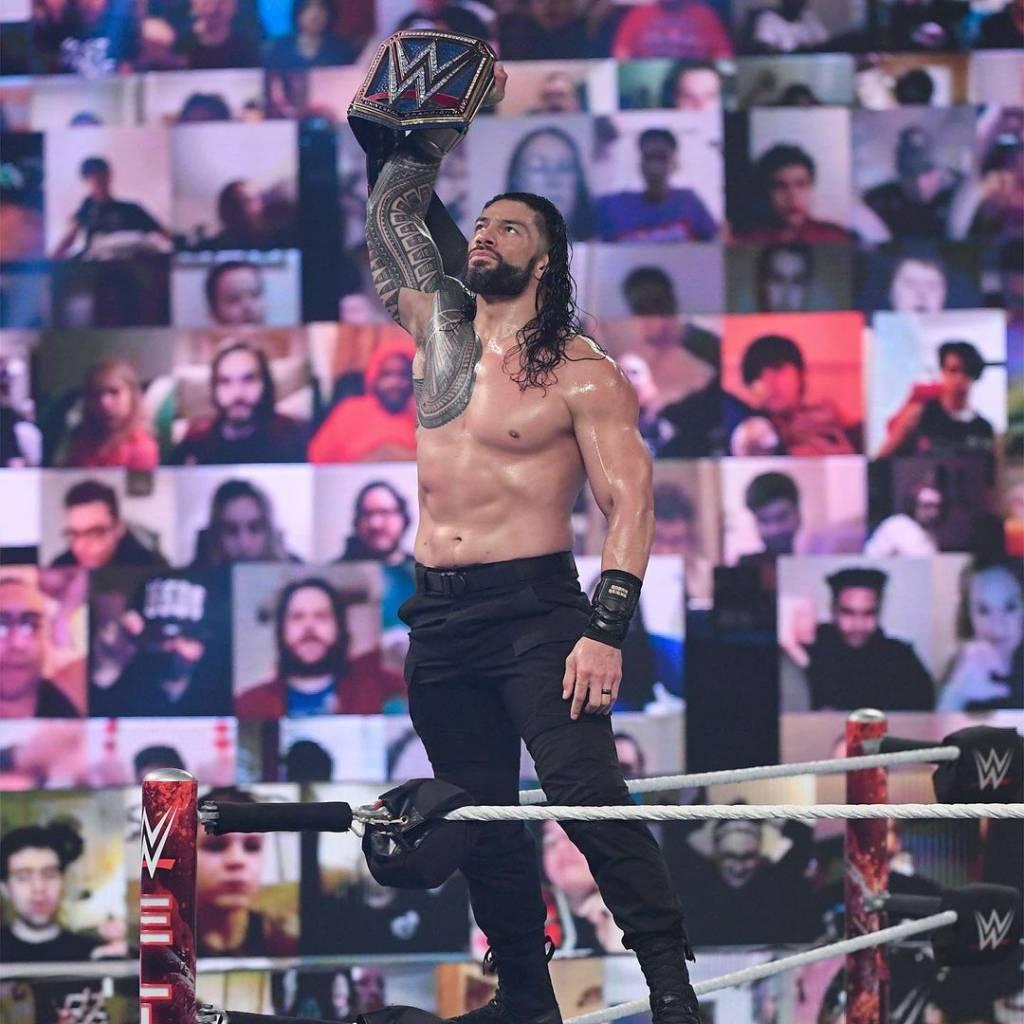 Filtran video Roman Reigns tras WrestleMania 37