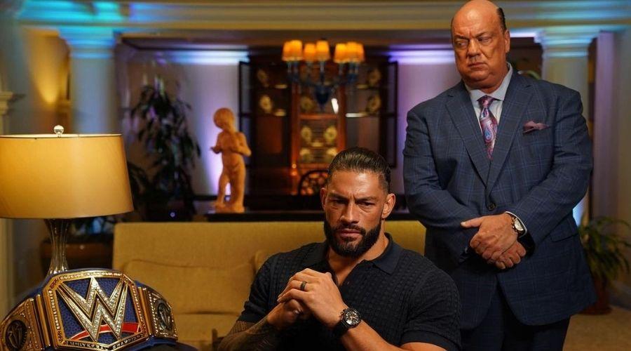 Roman Reigns Paul Heyman WWE
