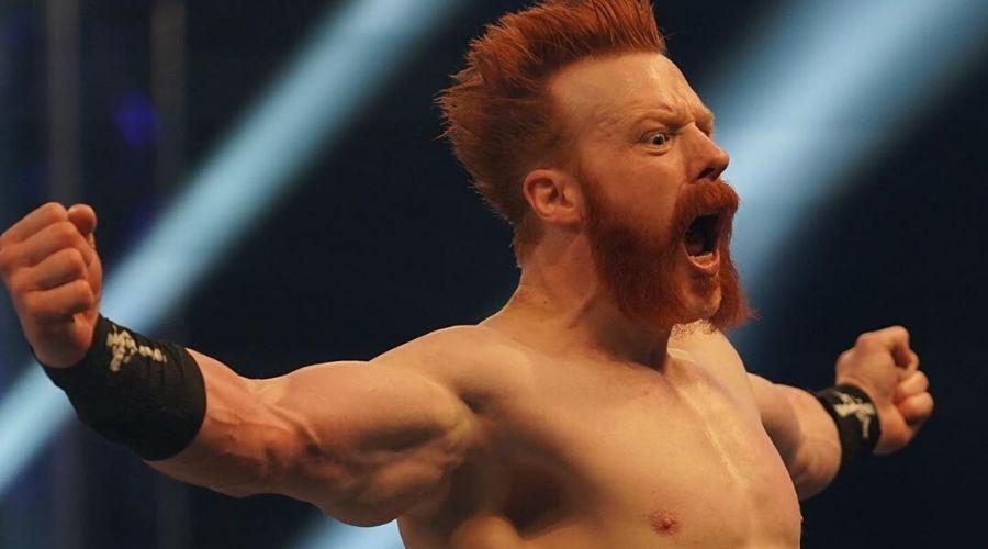 Riddle Sheamus WWE WrestleMania 37