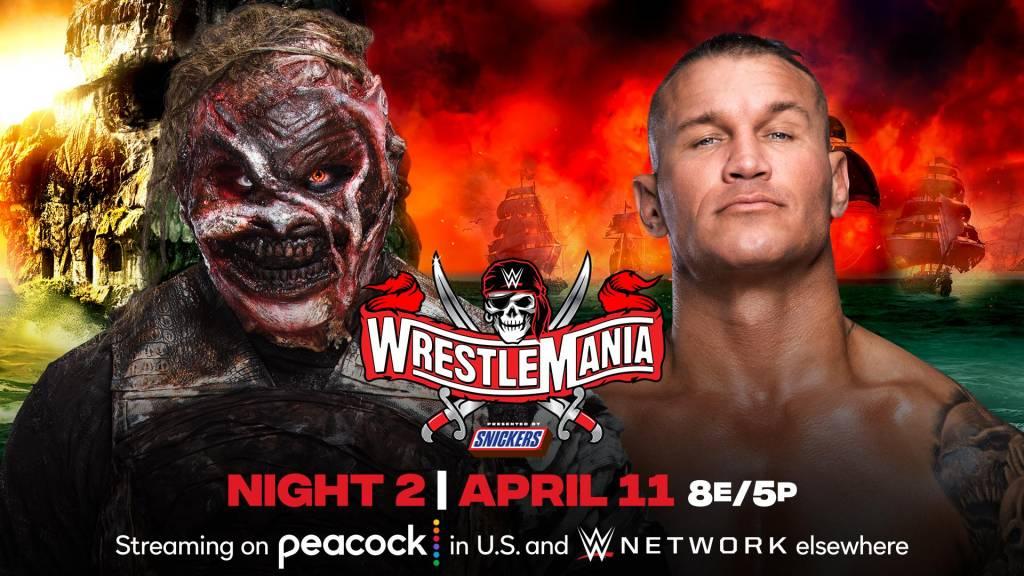 Cartelera horarios WrestleMania 37 actualizada