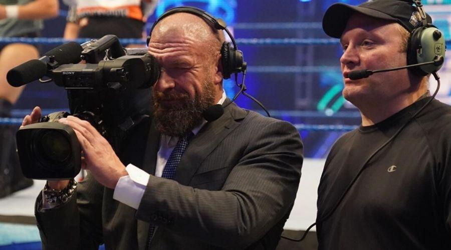 Por qué Triple H no ha estado NXT