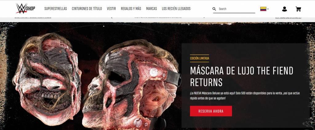 Nueva máscara The Fiend Bray Wyatt cuánto costará