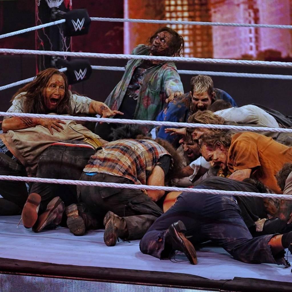 WWE The Miz lesión WrestleMania BackLash 2021