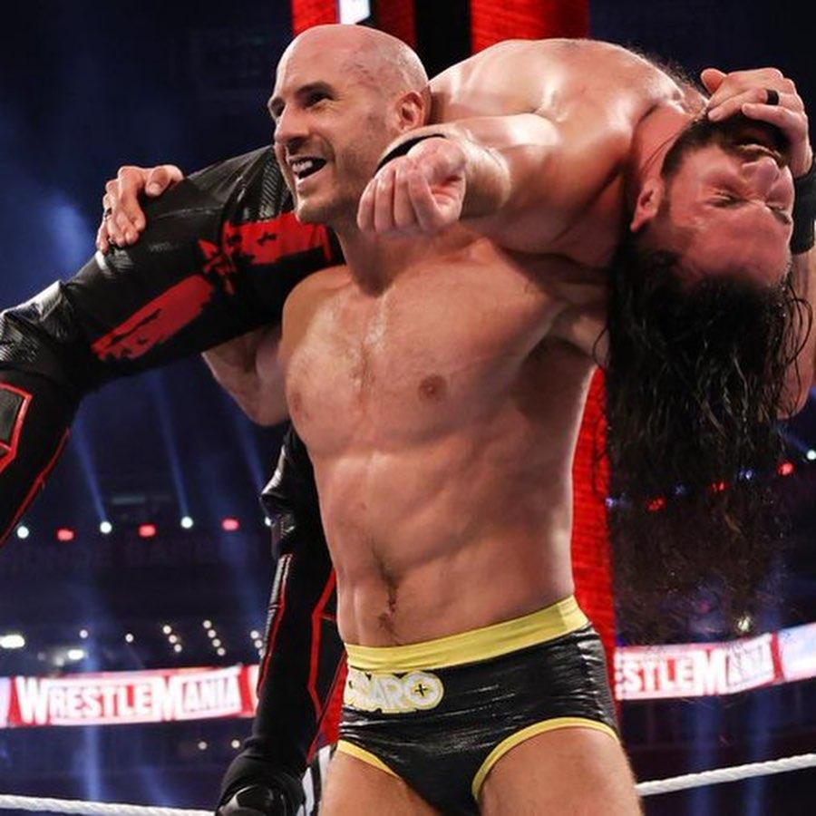 Seth Rollins ataque Cesaro WrestleMania BackLash 2021 por qué