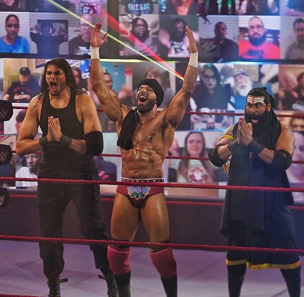 Jinder Mahal avisa cuáles son sus intenciones tras su regreso a Raw