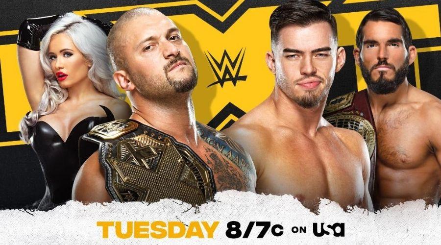 Karrion Kross oponente NXT próxima semana
