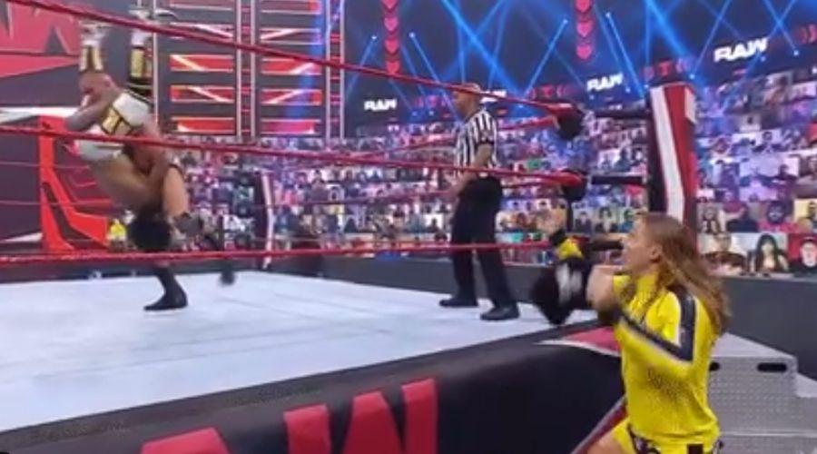 Randy Orton Bro Dereck Riddle Xavier Woods Raw