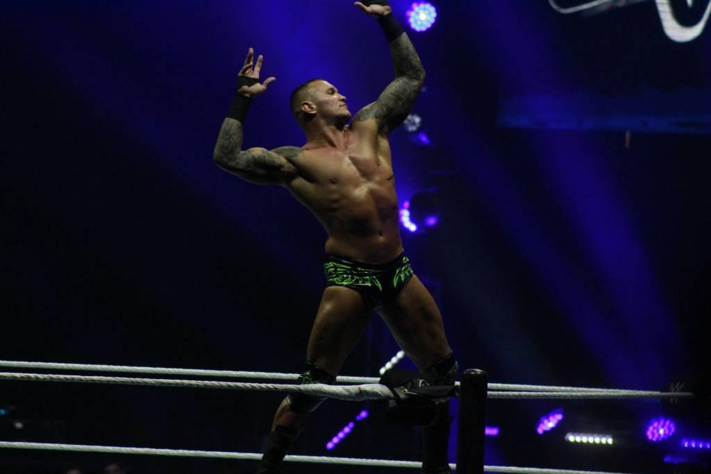 Randy Orton alguien se enojó combate WrestleMania 37