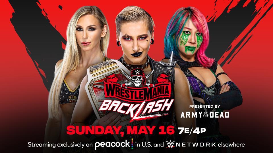 Cuándo es WWE WrestleMania BackLash 2021