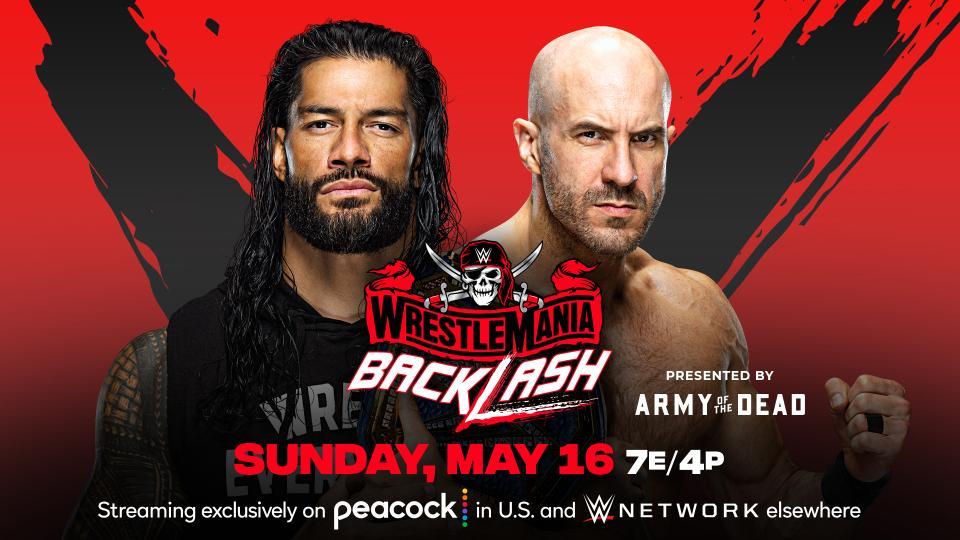 WWE WrestleMania BackLash ver EN VIVO