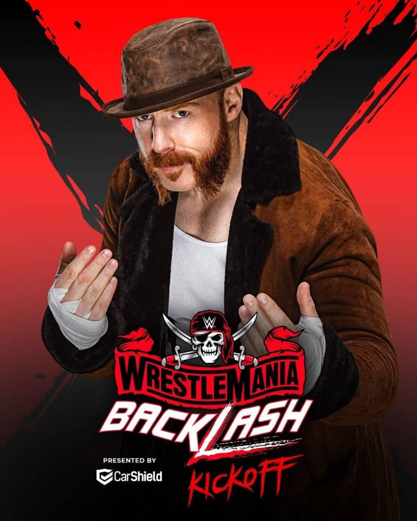 Sheamus WrestleMania BackLash 2021 kickoff