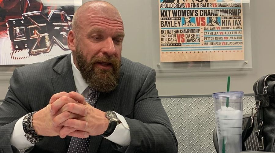 Triple H enfrentar superestrella femenina WWE Asuka