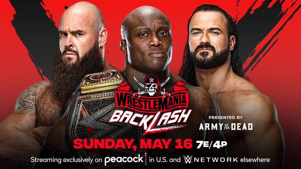 WWE WrestleMania BackLash resultados