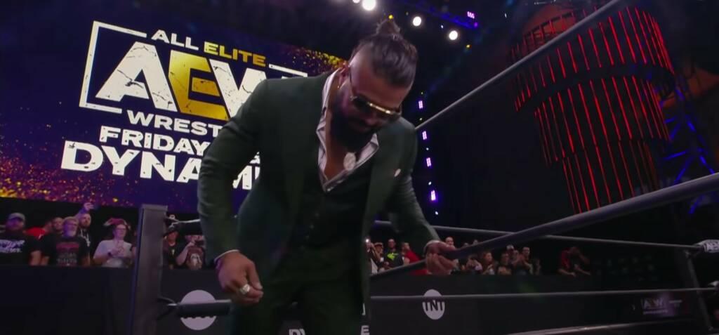 Andrade llega a AEW oficialmente
