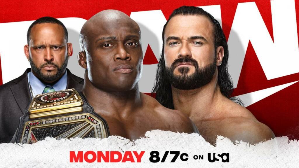 Bobby Lashley y Drew McIntyre Raw resultados 07 de junio de 2021