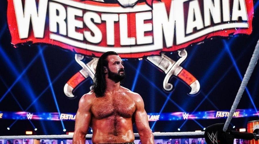 Luchadores WWE apoyo Suiza Eurocopa 2021 Drew Mcintyre