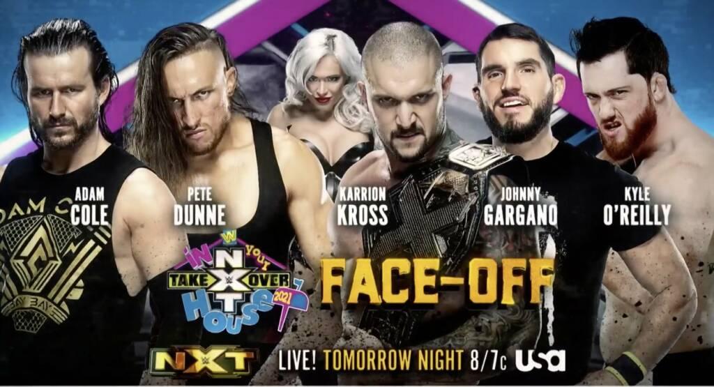 Karrion Kross retadores previa NXT