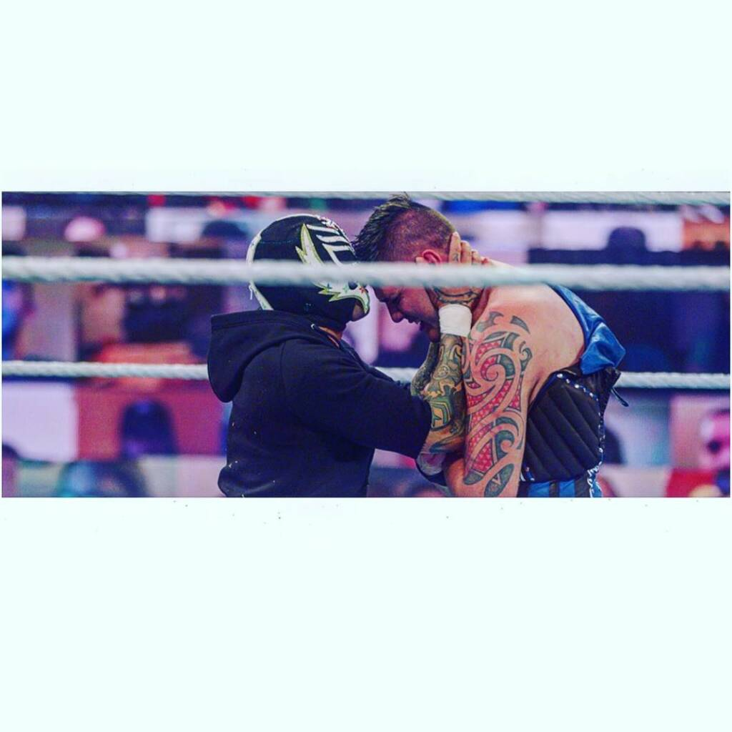 WWE 2021 Rey Mysterio descarta combate contra Dominik
