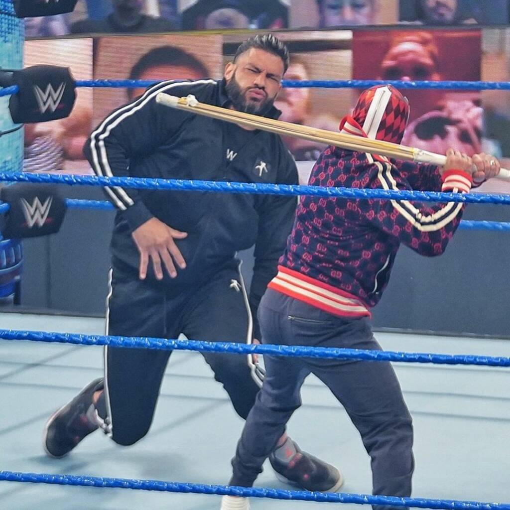 Rey Mysterio reta Roman Reigns Hell in a Cell 2021
