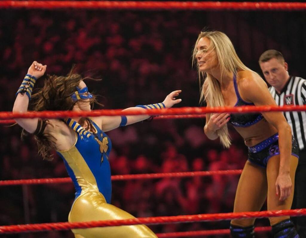Charlotte Flair Nikki A.S.H. Raw