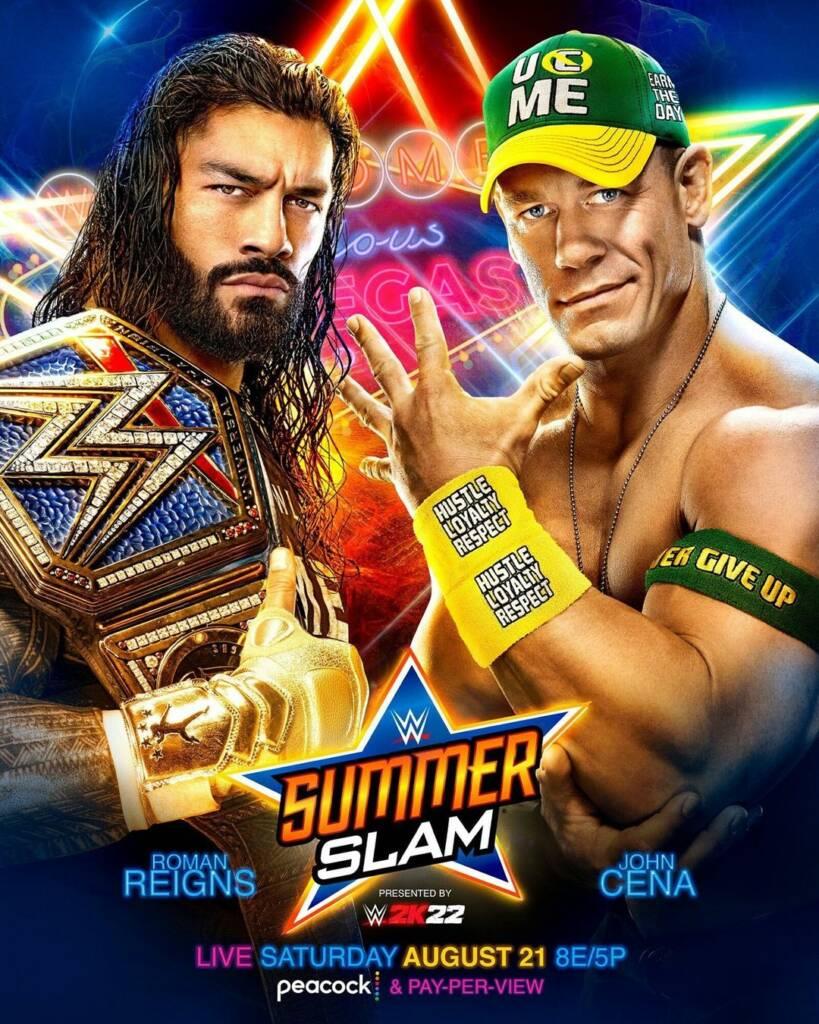 Roman Reigns Finn Bálor John Cena SummerSlam contrato