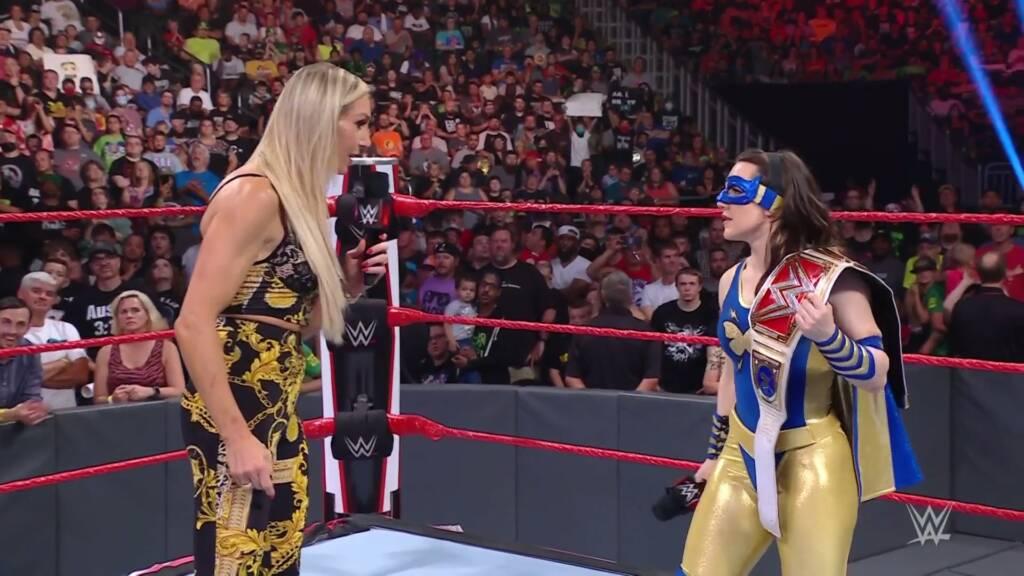 Charlotte Flair Nikki ASH Raw 26 julio 2021