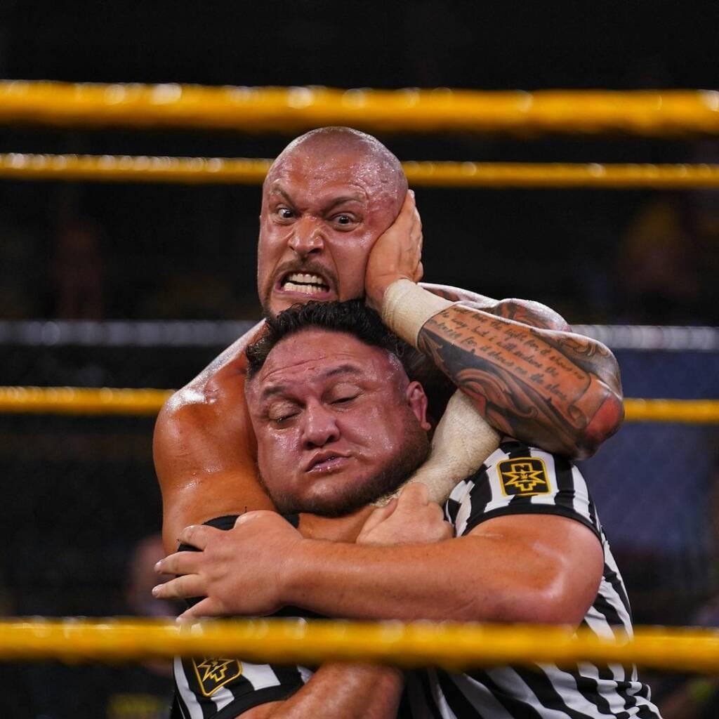 Futuro Samoa Joe Karrion Kross NXT