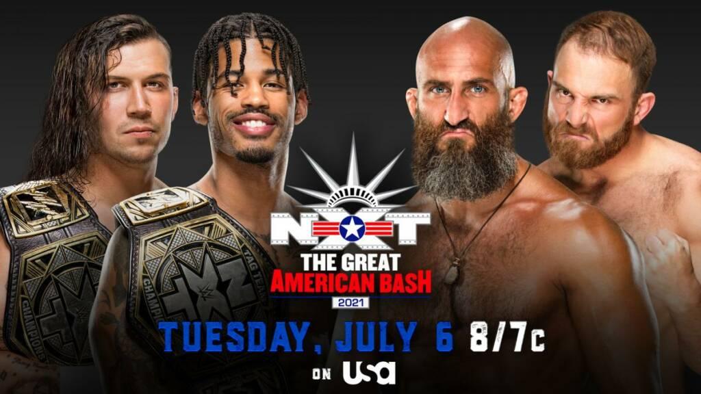 NXT Ver EN VIVO GREAT AMERICAN BASH 2021